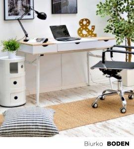 Skandynawskie biurko z praktycznymi szufladami i otwieranym blatem. Połączone z nowoczesnymi dodatkami i lampką led. Idealnie sprawdzi się w domowym biurze razem z wyprofilowa