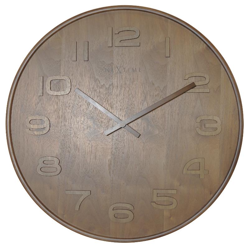 Zegar Wood Wood Big średnica 53 cm