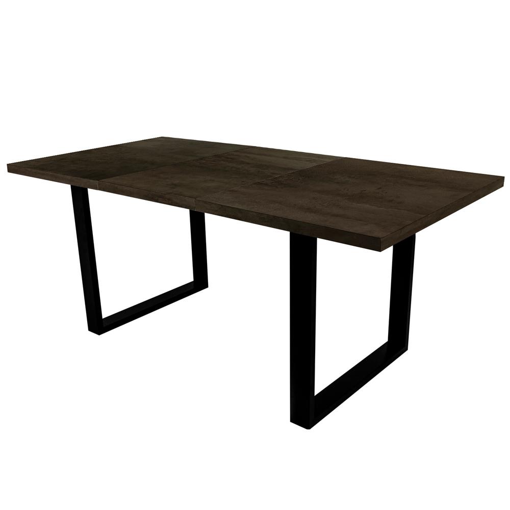 Stół rozkładany Lameca 160-210x90 cm czarny oxide