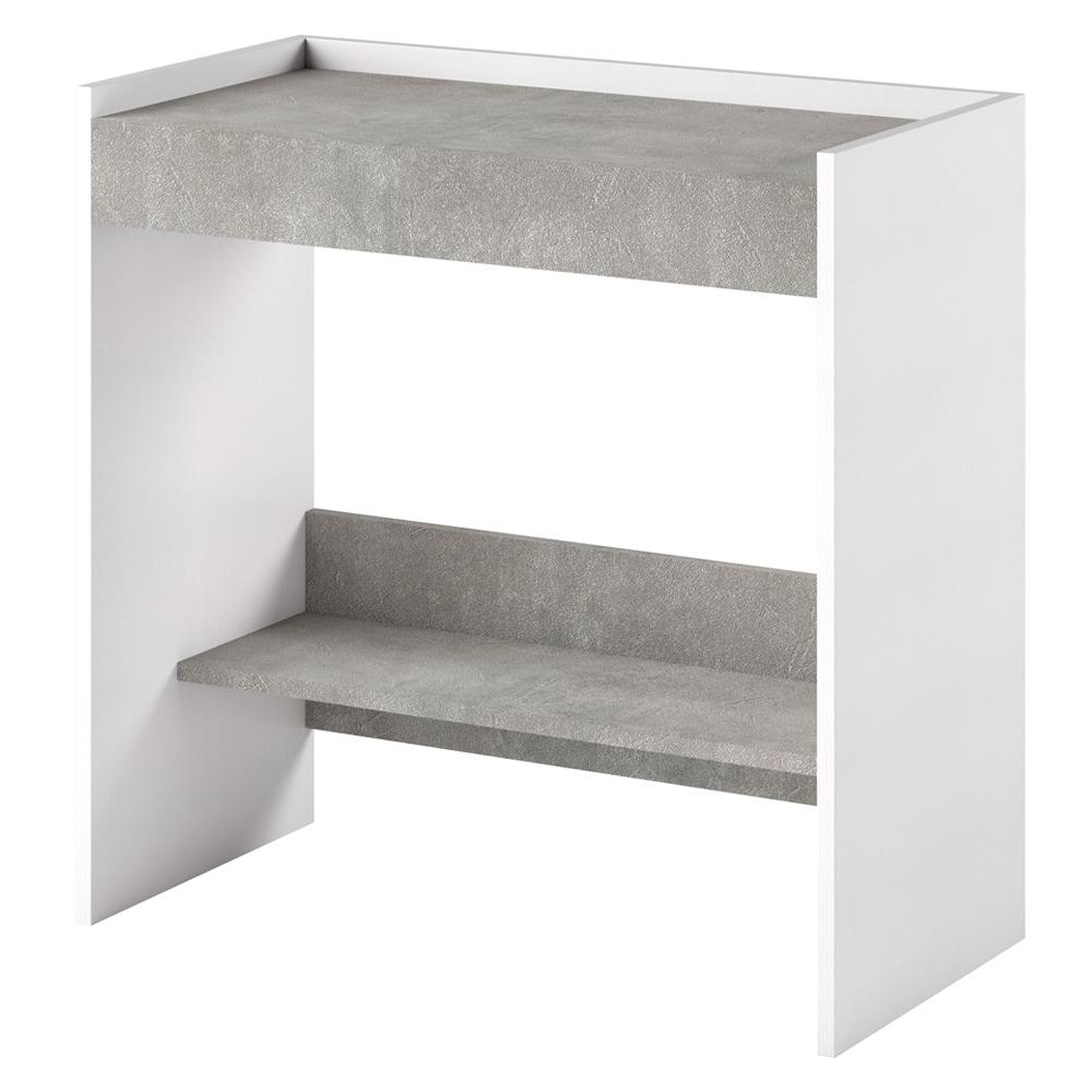 Włoskie biurko-toaletka Lurdi beton