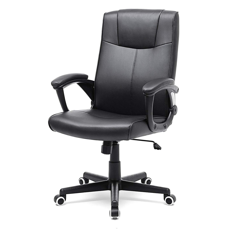 Fotel biurowy Clyro czarny