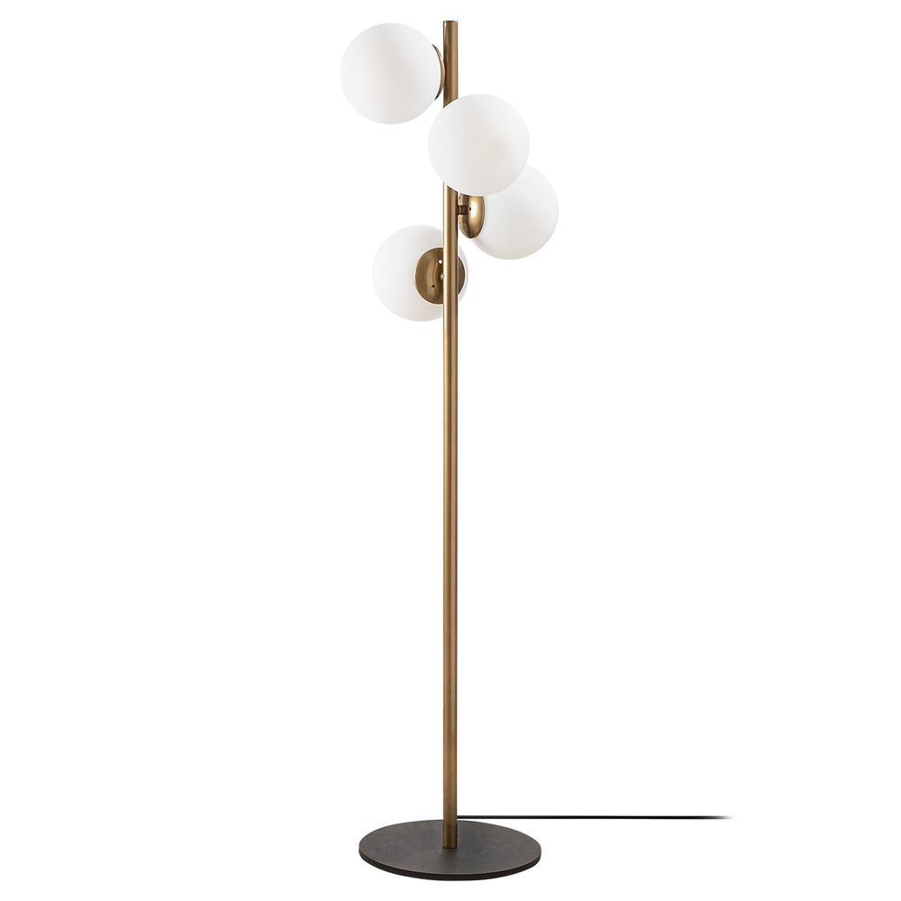 Lampa stojąca Spinoza x4 złota