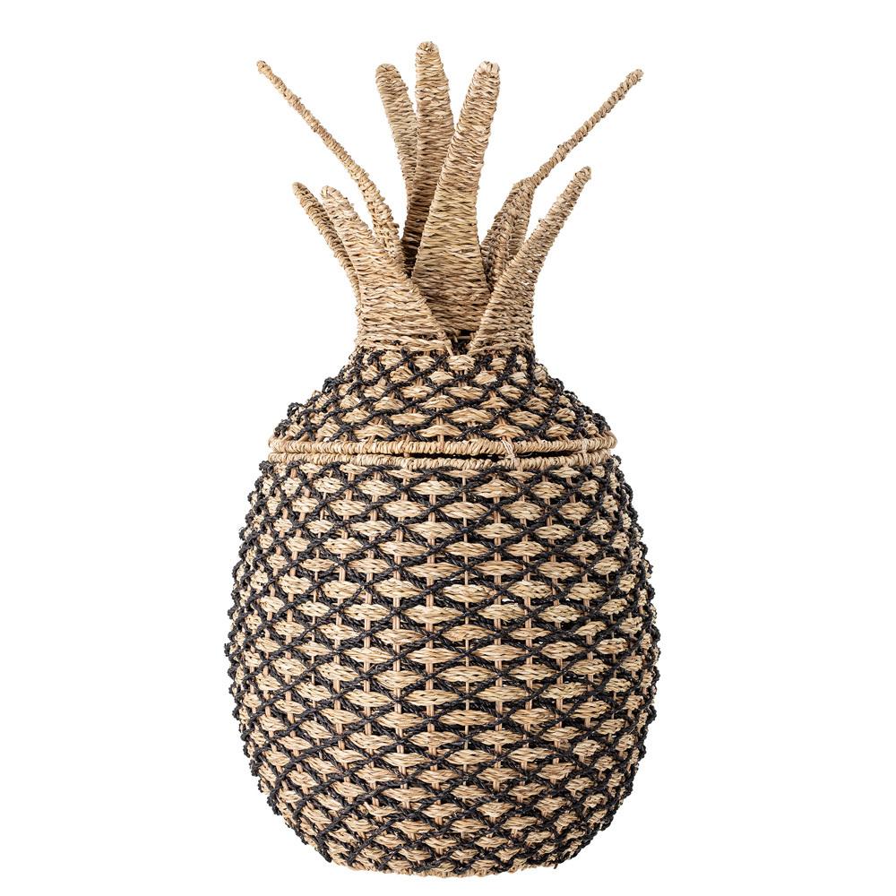 Kosz pleciony Netion ananas z pandanu