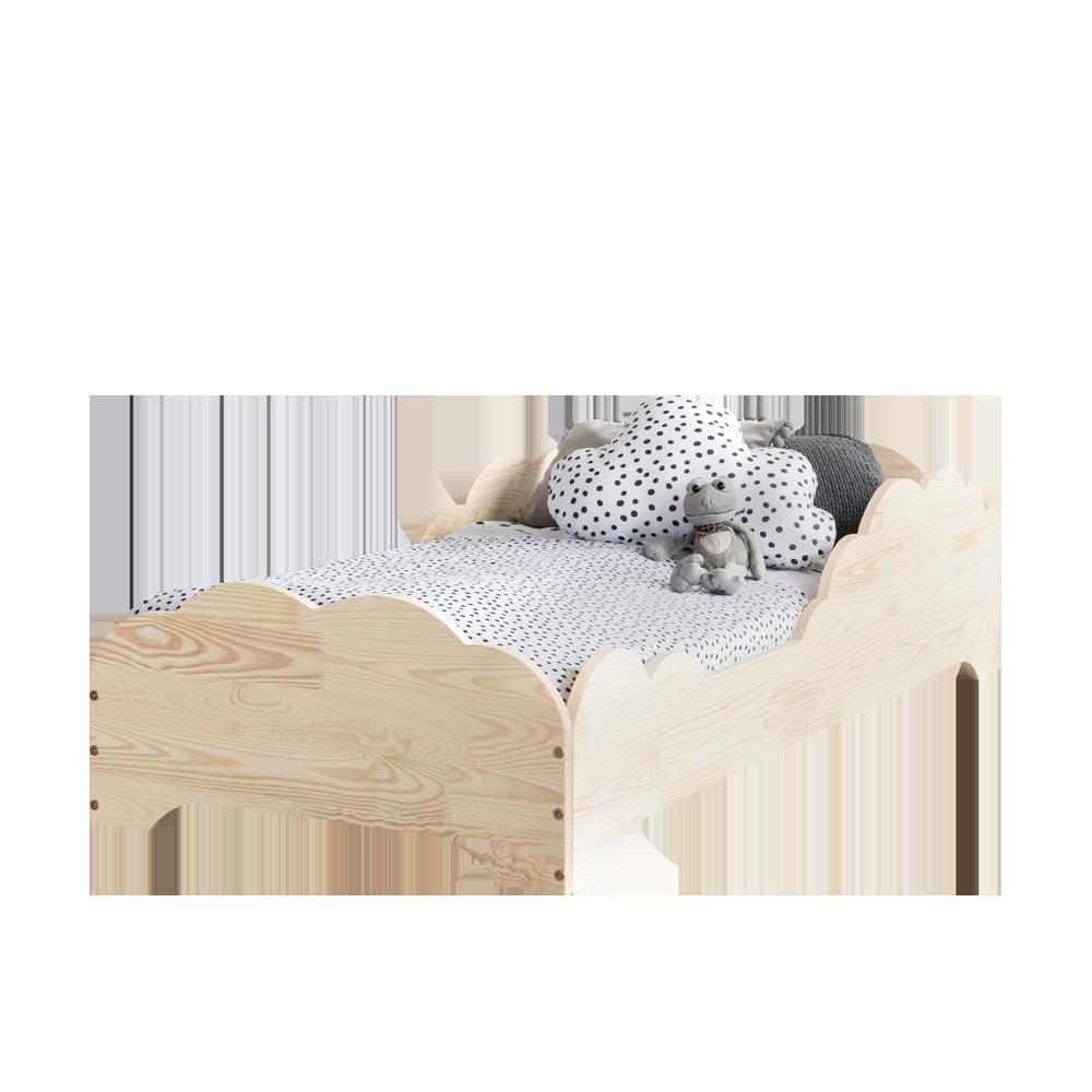 Łóżko Irine dziecięce z drewna