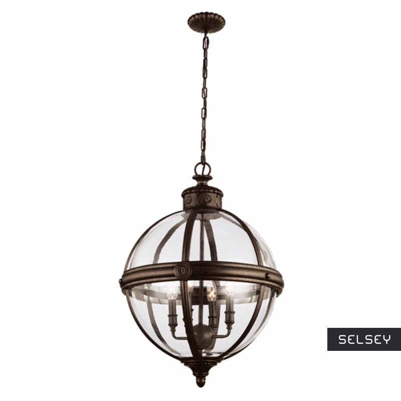 Lampa wisząca Adams bronze 50 cm