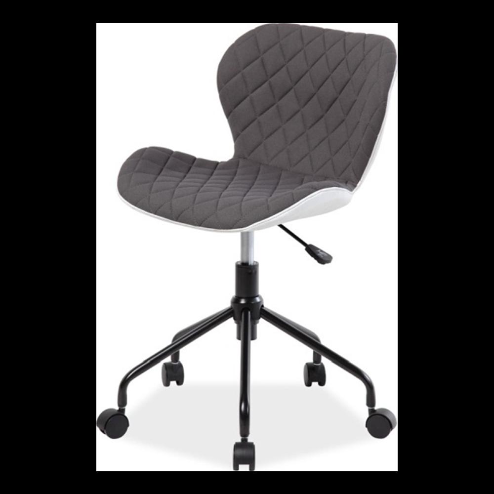 Fotel biurowy Marlo szaro - biały