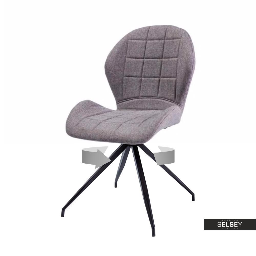 Krzesło Collo szare podstawa statyw