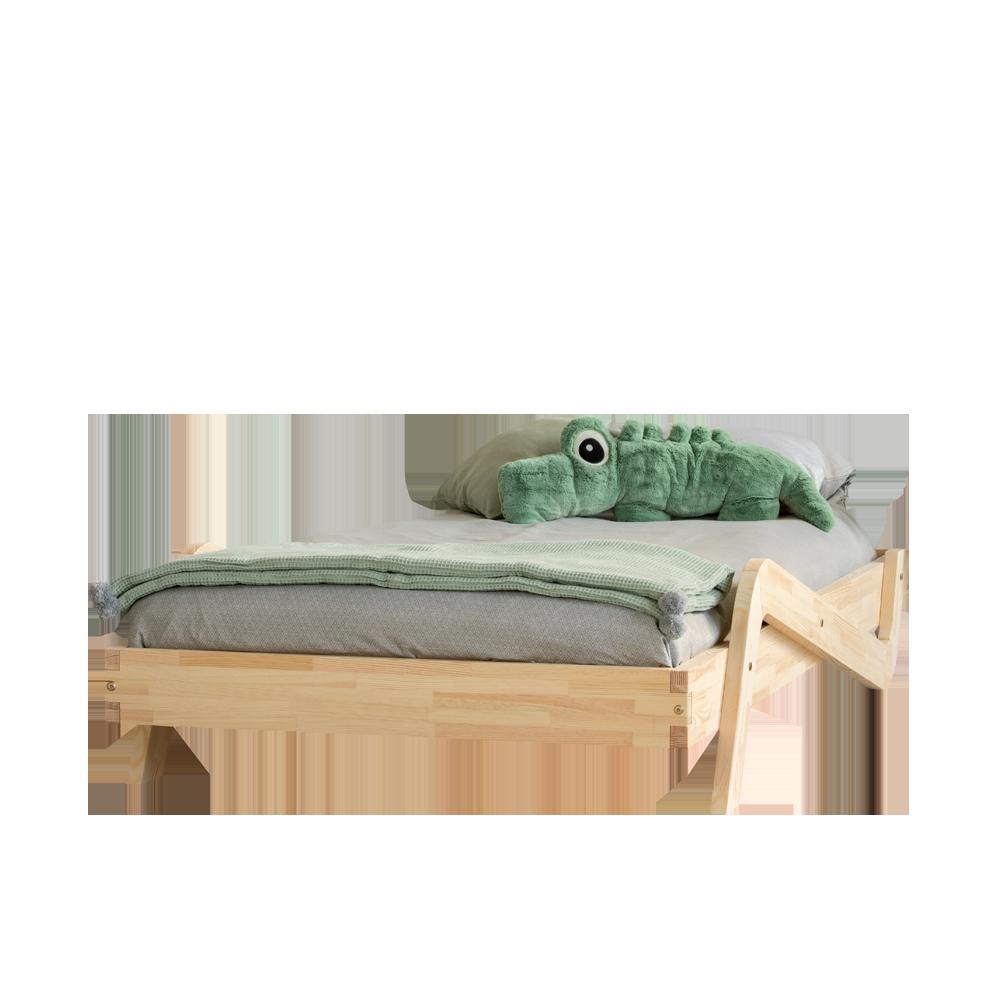 Łóżko Stewart młodzieżowe z drewna