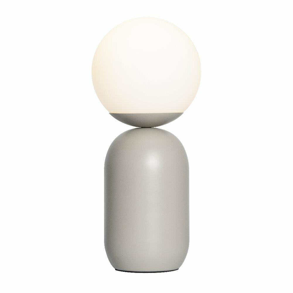 Lampa stołowa Notti szara