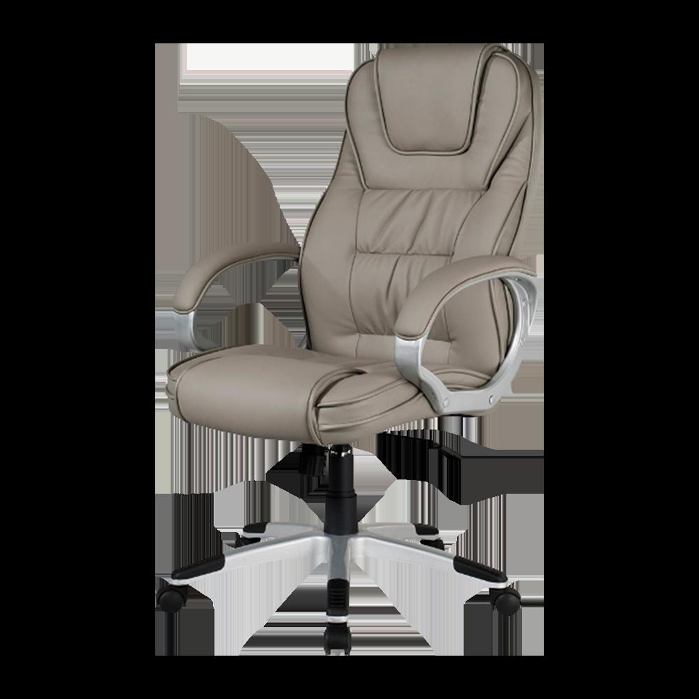 Fotel biurowy Mauricio szary