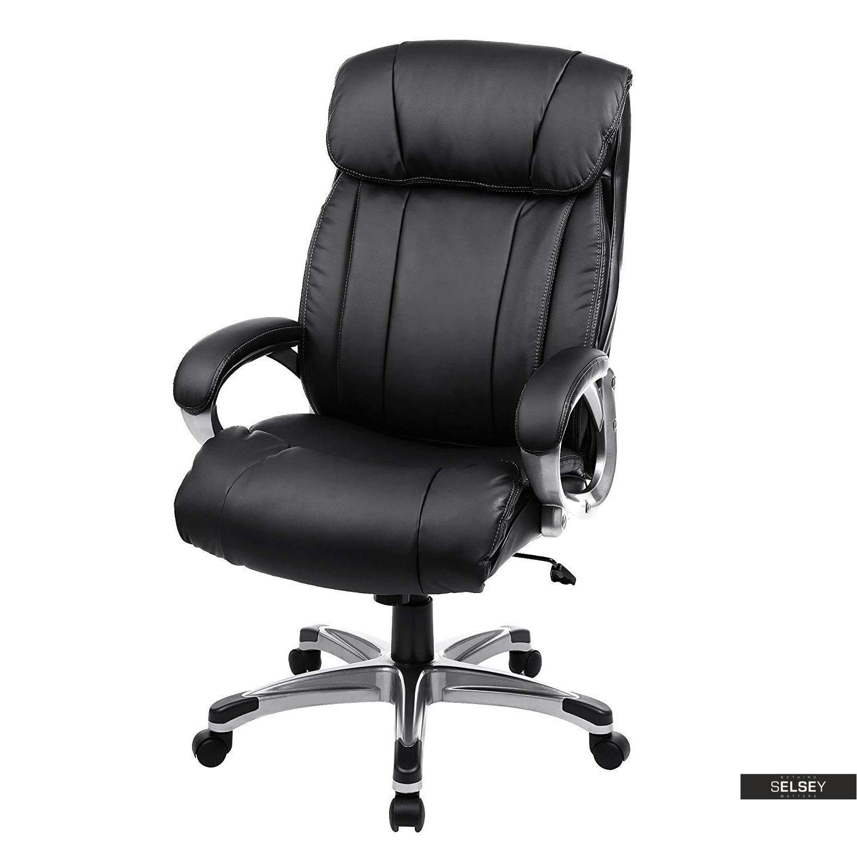 Fotel biurowy Elton czarny