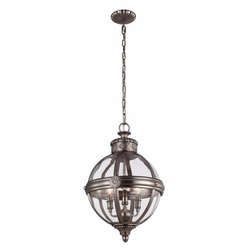 Lampa wisząca Adams steel 37 cm