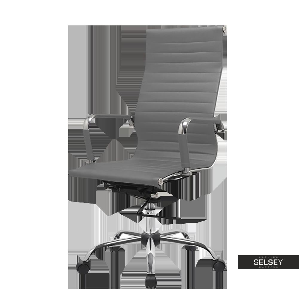Fotel biurowy Olimp szary