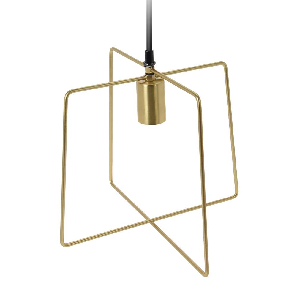 Lampa wisząca Isiba złota