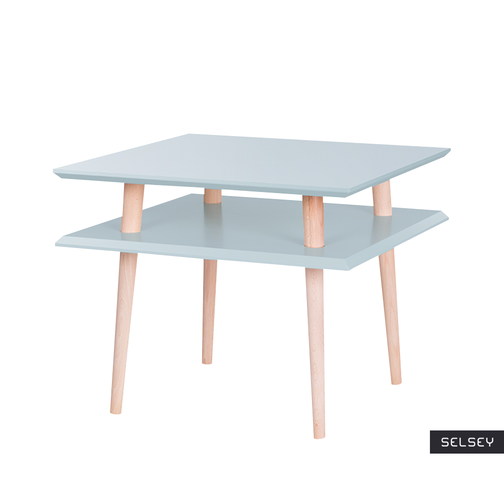 Stolik Snowbrowth kwadratowy 55x55 cm średni