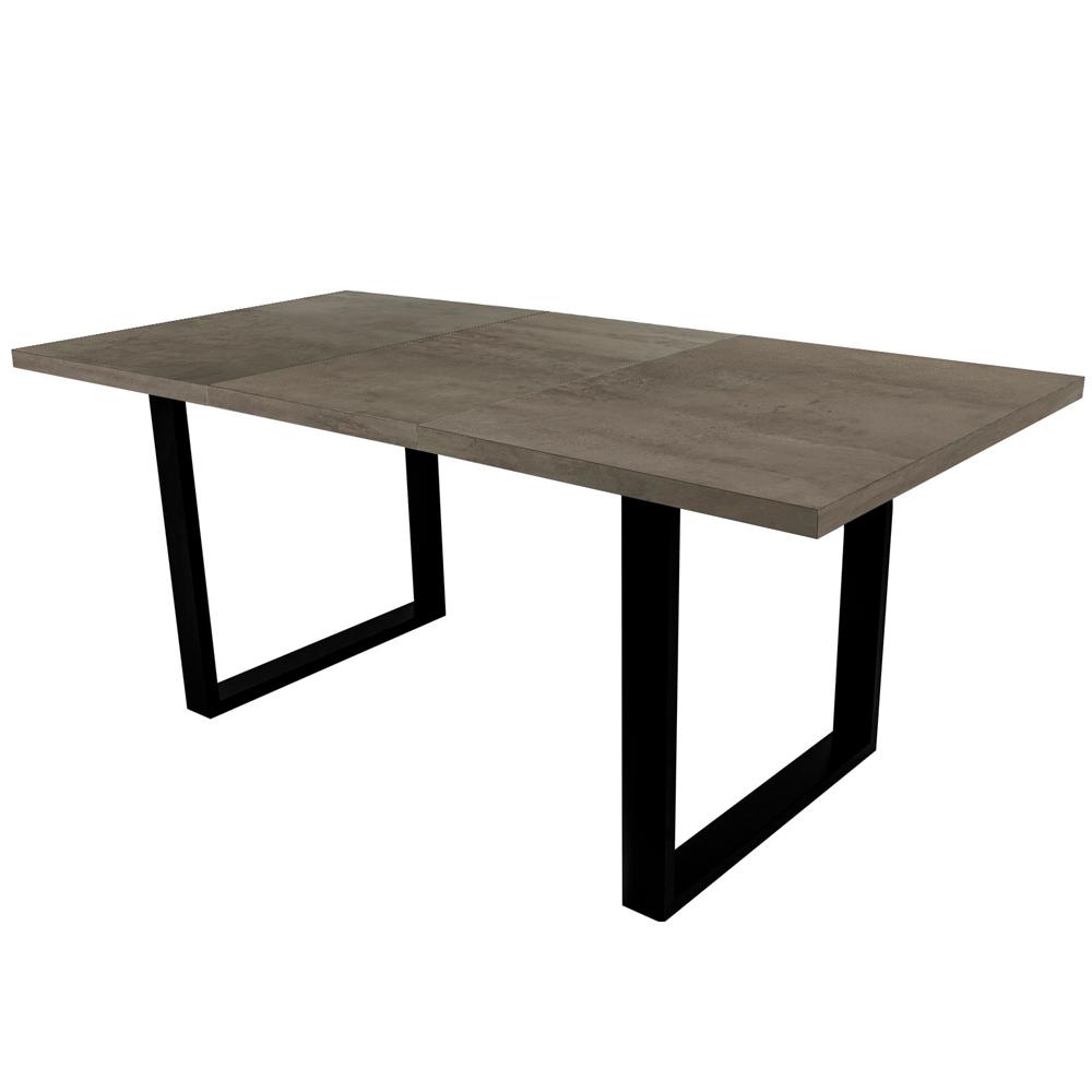 Stół rozkładany Lameca 135-185x85 cm beton
