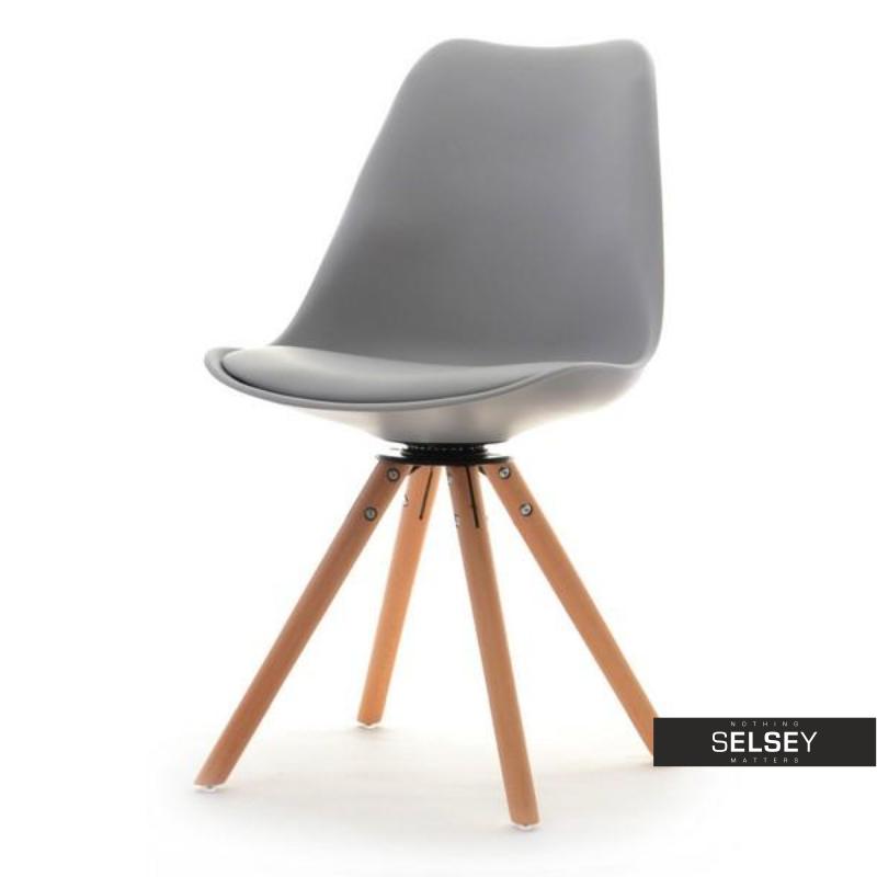 Krzesło Luis rot szare obrotowe