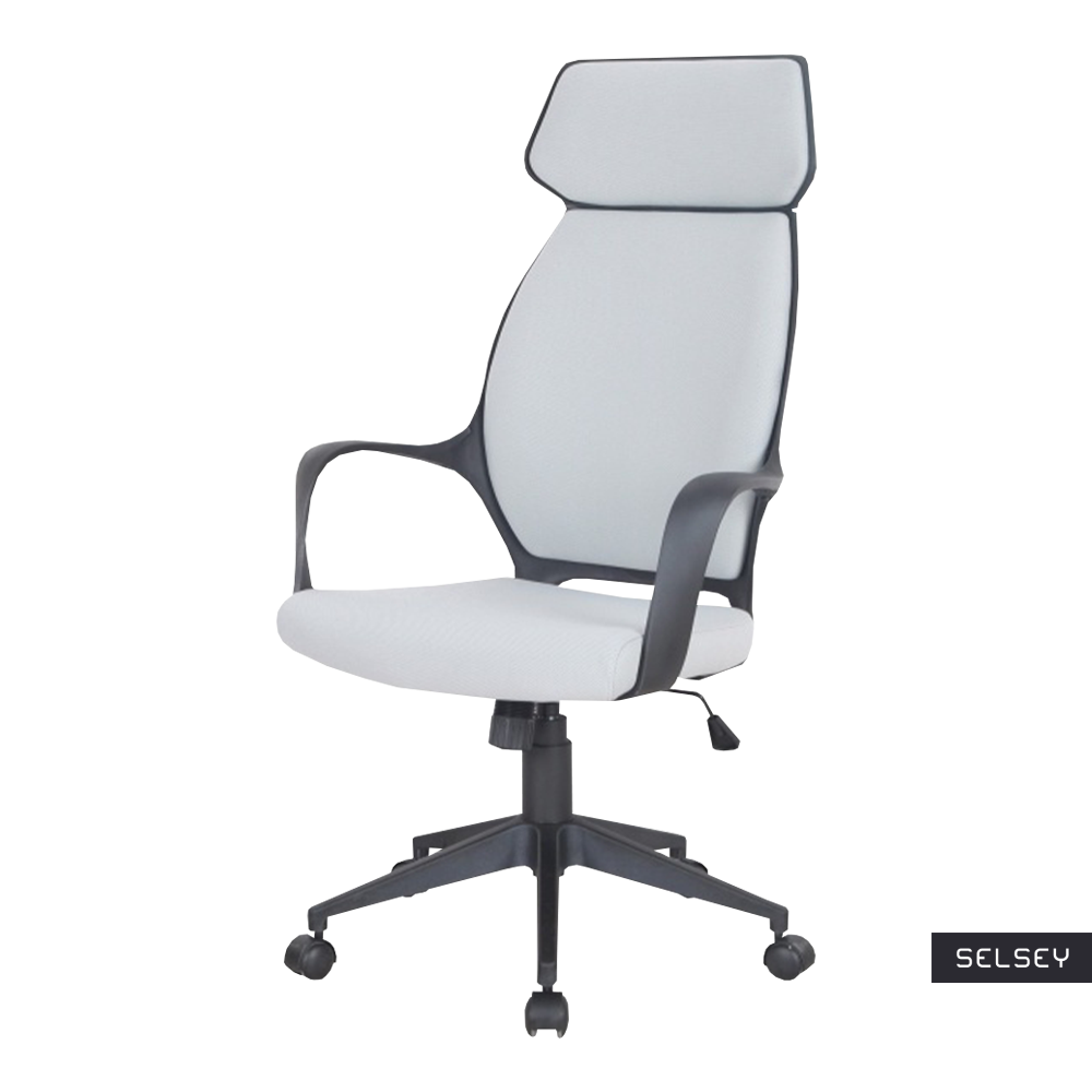 Fotel biurowy Morella szaro - czarny