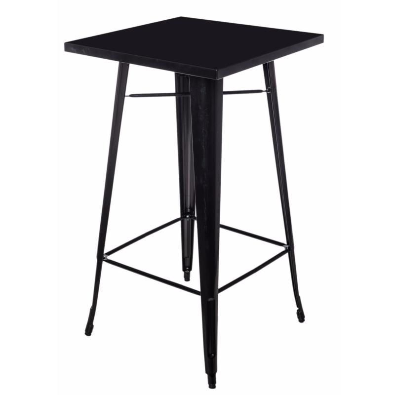 Stół Paris 60x60 cm czarny