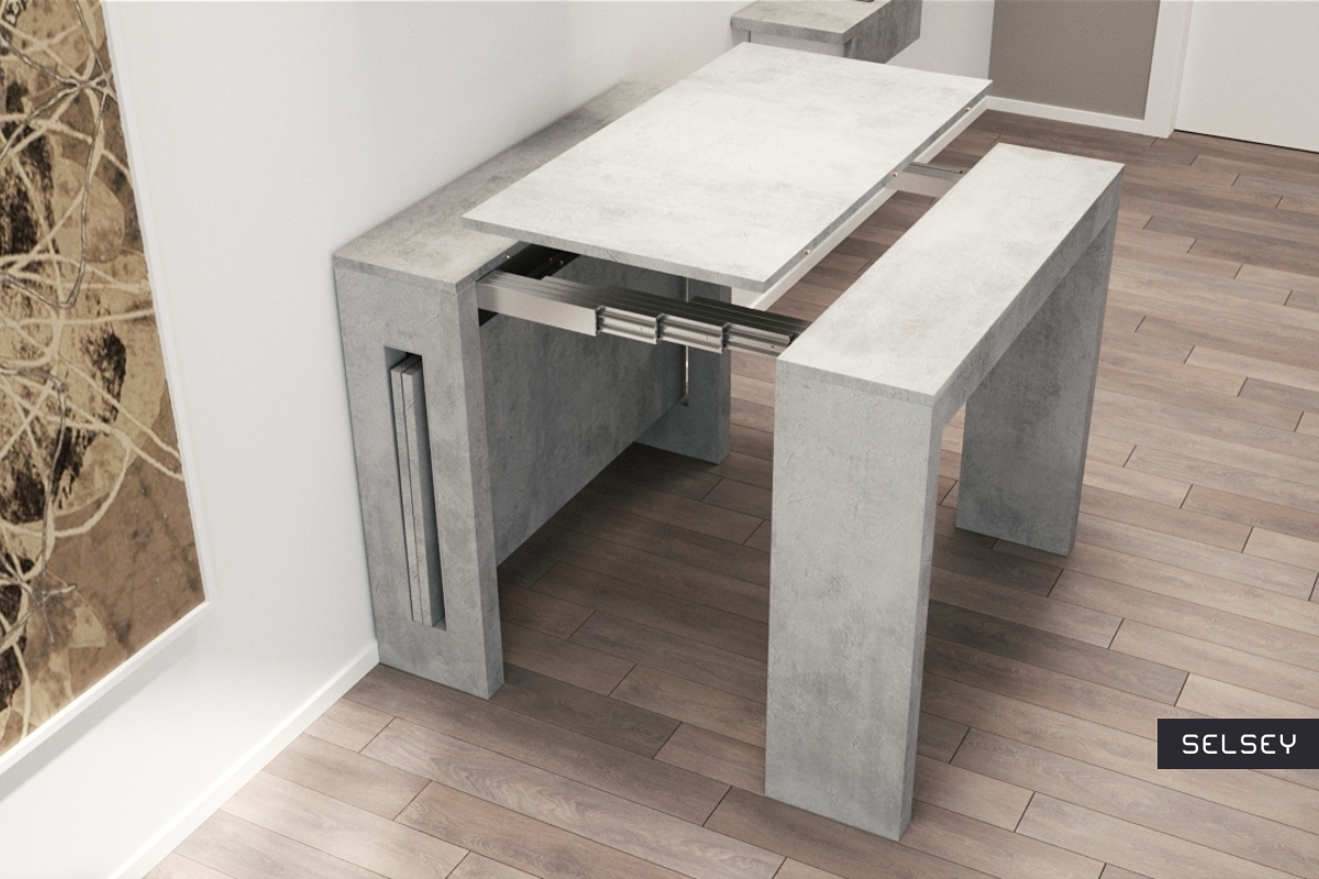w oski st rozk adany roma beton. Black Bedroom Furniture Sets. Home Design Ideas