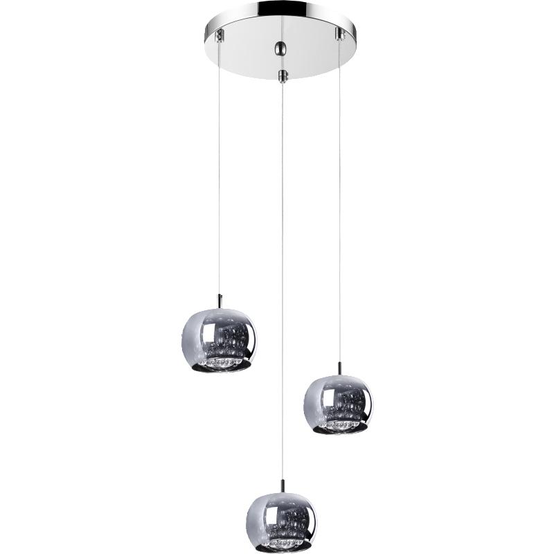 Lampa wisząca Glamour kaskada x3