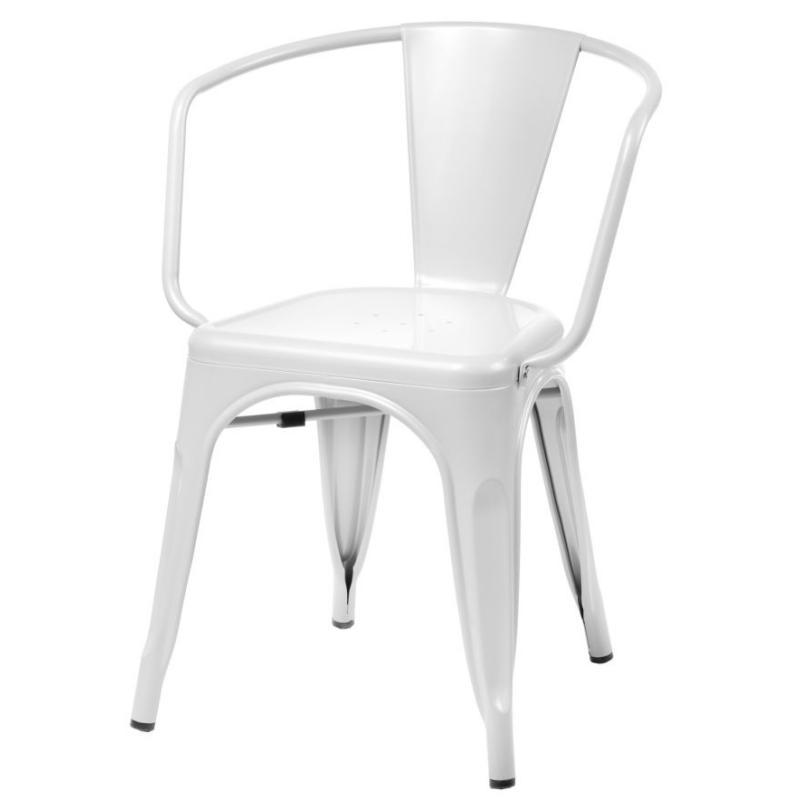 Krzesło Tolader Arms białe