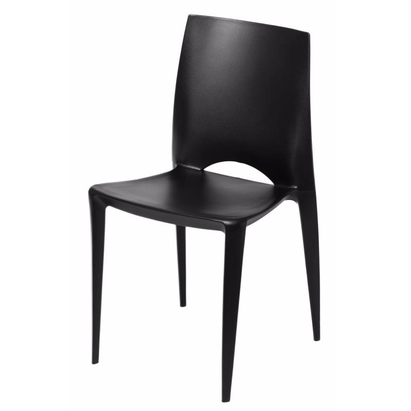Krzesło Bee czarne