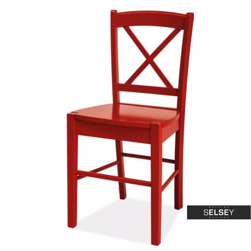 Krzesło Svene czerwone