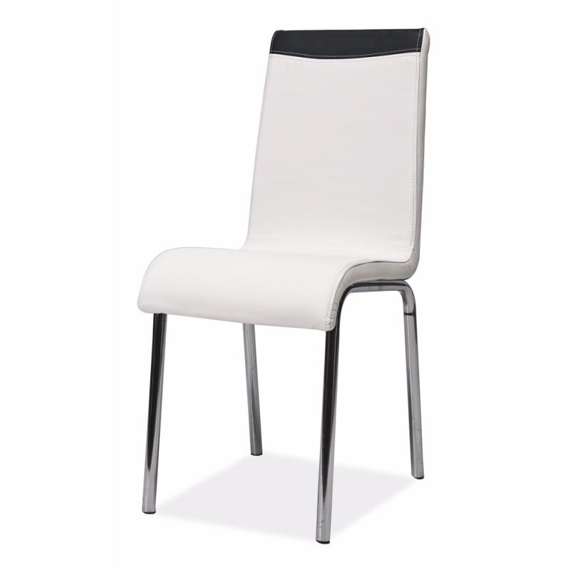 Krzesło Varberg biało - czarne