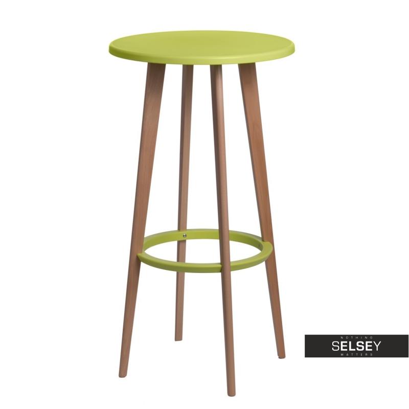 Stół Lush średnica 60 cm zielony