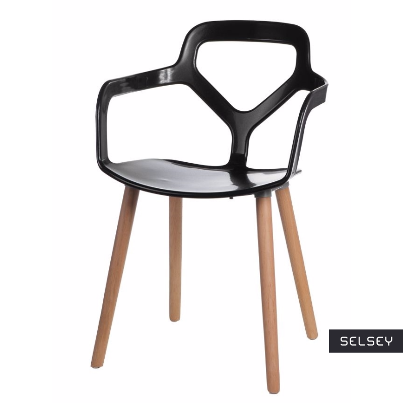Krzesło Kadally czarne