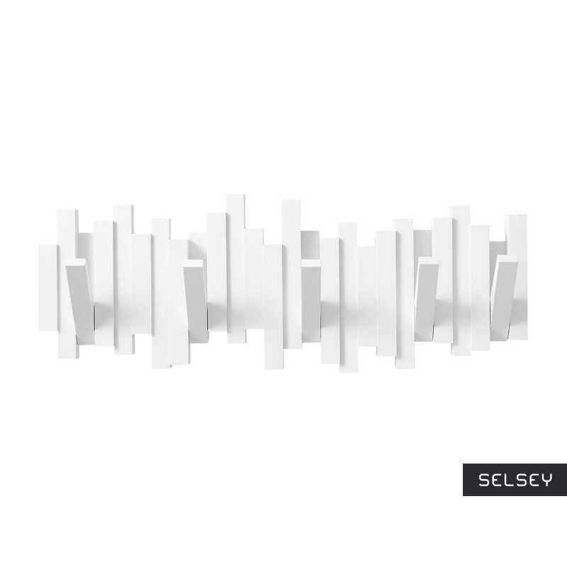 Wieszak Sticks Multi biały
