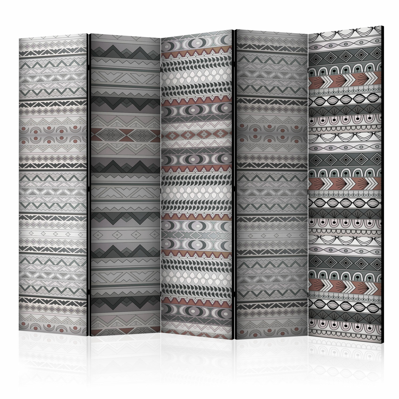 Parawan 5-częściowy - Etniczny deseń