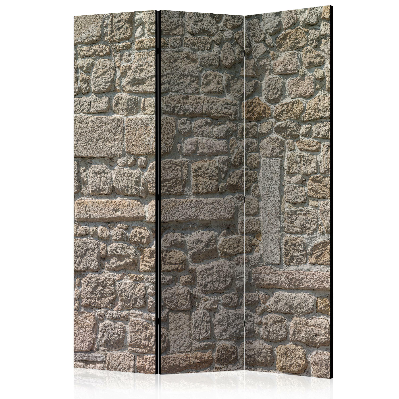Parawan 3-częściowy - Kamienna świątynia