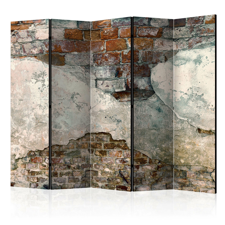 Parawan 5-częściowy - Skruszone mury