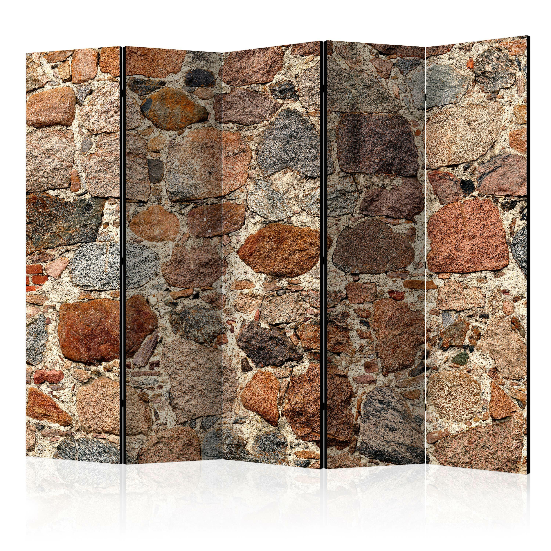 Parawan 5-częściowy - Kamienny artyzm
