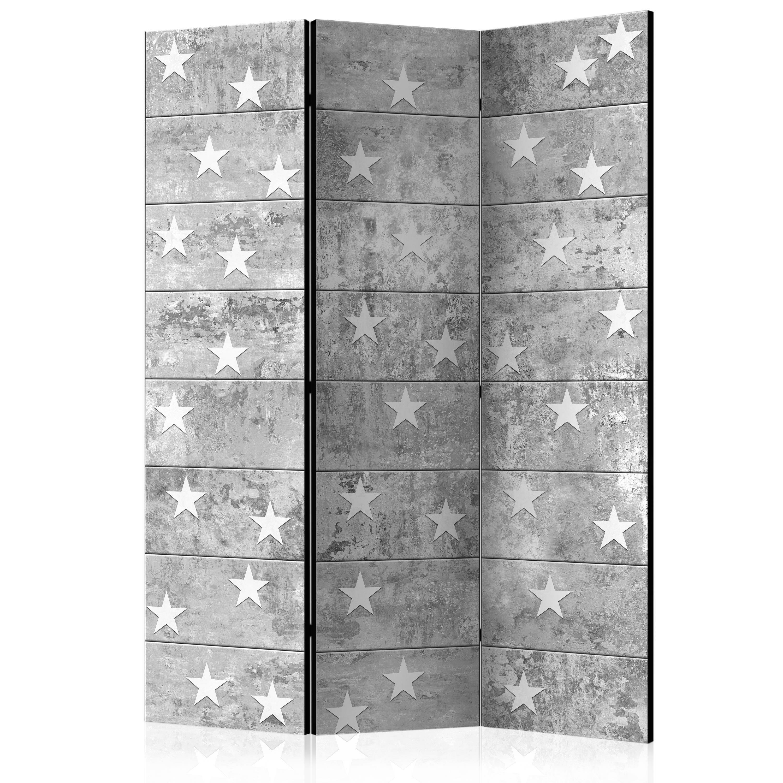 Parawan 3-częściowy - Gwiazdki na betonie