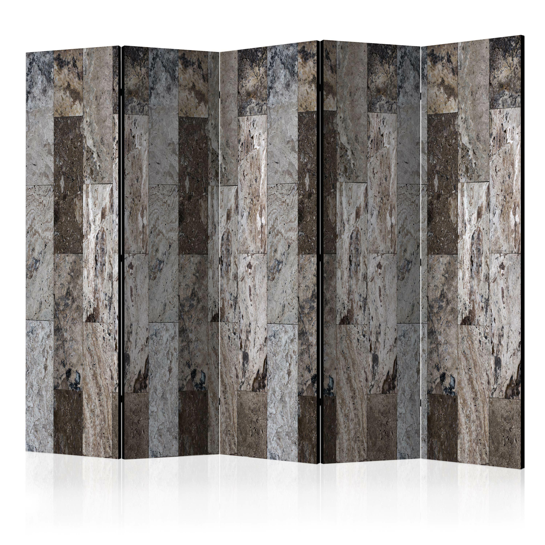 Parawan 5-częściowy - Marmurowa mozaika