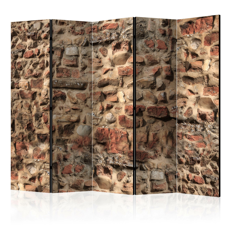 Parawan 5-częściowy - Starożytny mur