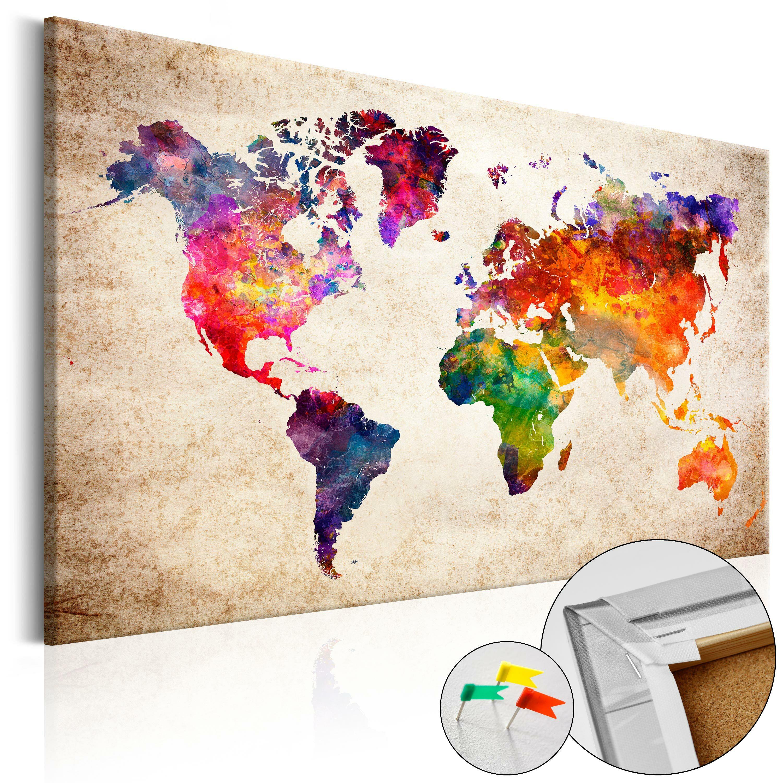 Tablica korkowa Kolorowe uniwersum