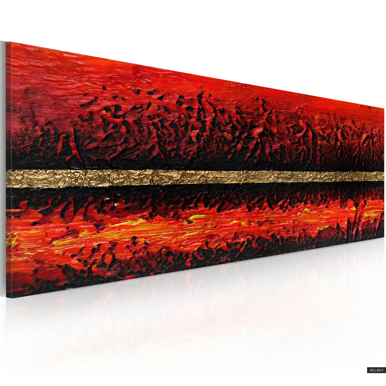 Obraz malowany - Erupcja wulkanu
