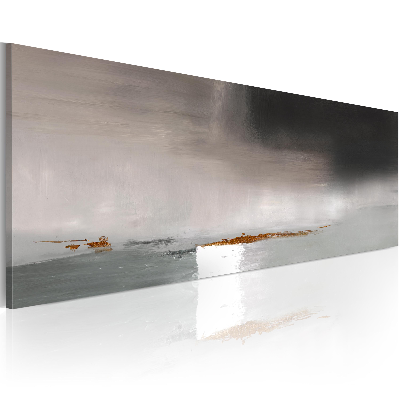 Obraz malowany - Wymowne szarości