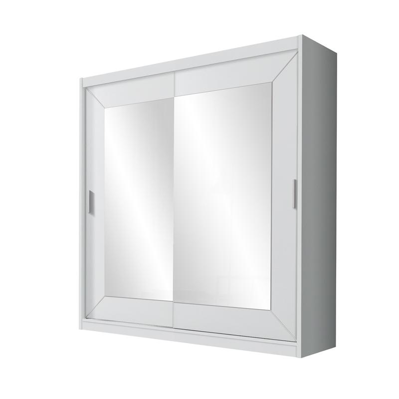 Szafa Alfa biały laminat 200 cm