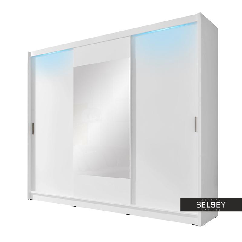 Szafa Ornom 250 cm z lustrem na środku
