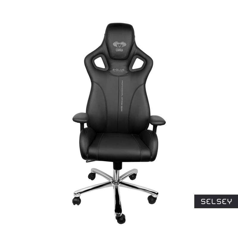 Fotel gamingowy E-Blue Cobra czarny