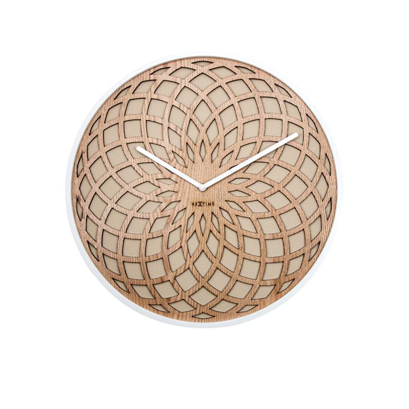 Zegar drewniany Sun Large średnica 50 cm