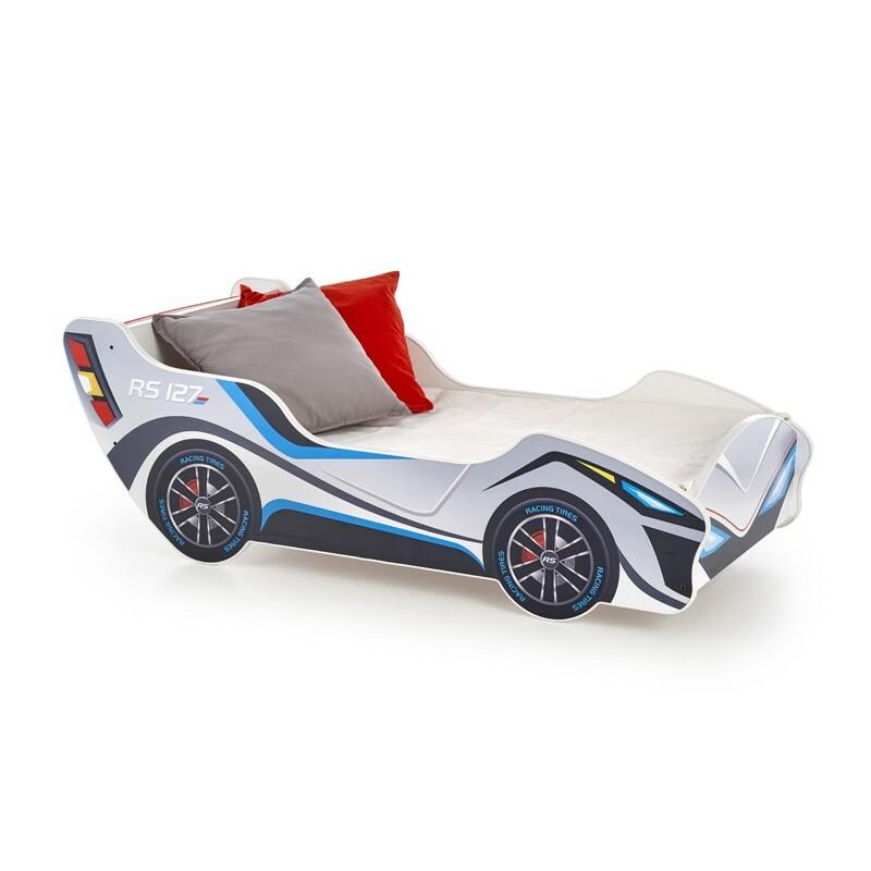 Łóżko Racecar wielokolorowe