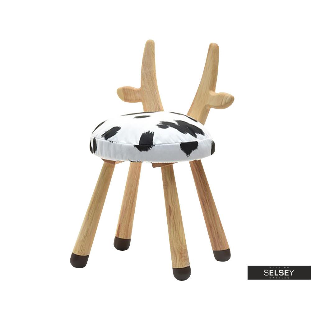 Krzesło Krówka łaciata do pokoju dziecięcego