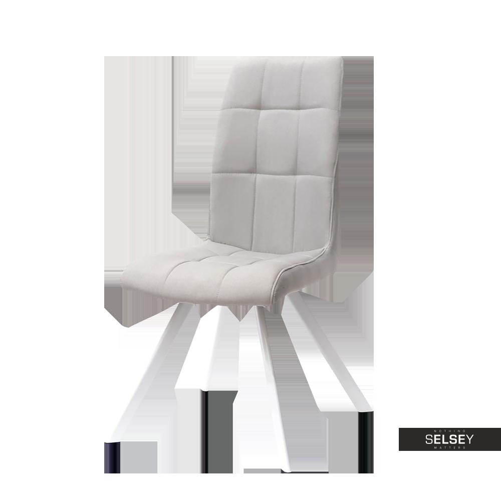 Krzesło Zodiak pikowane do jadalni