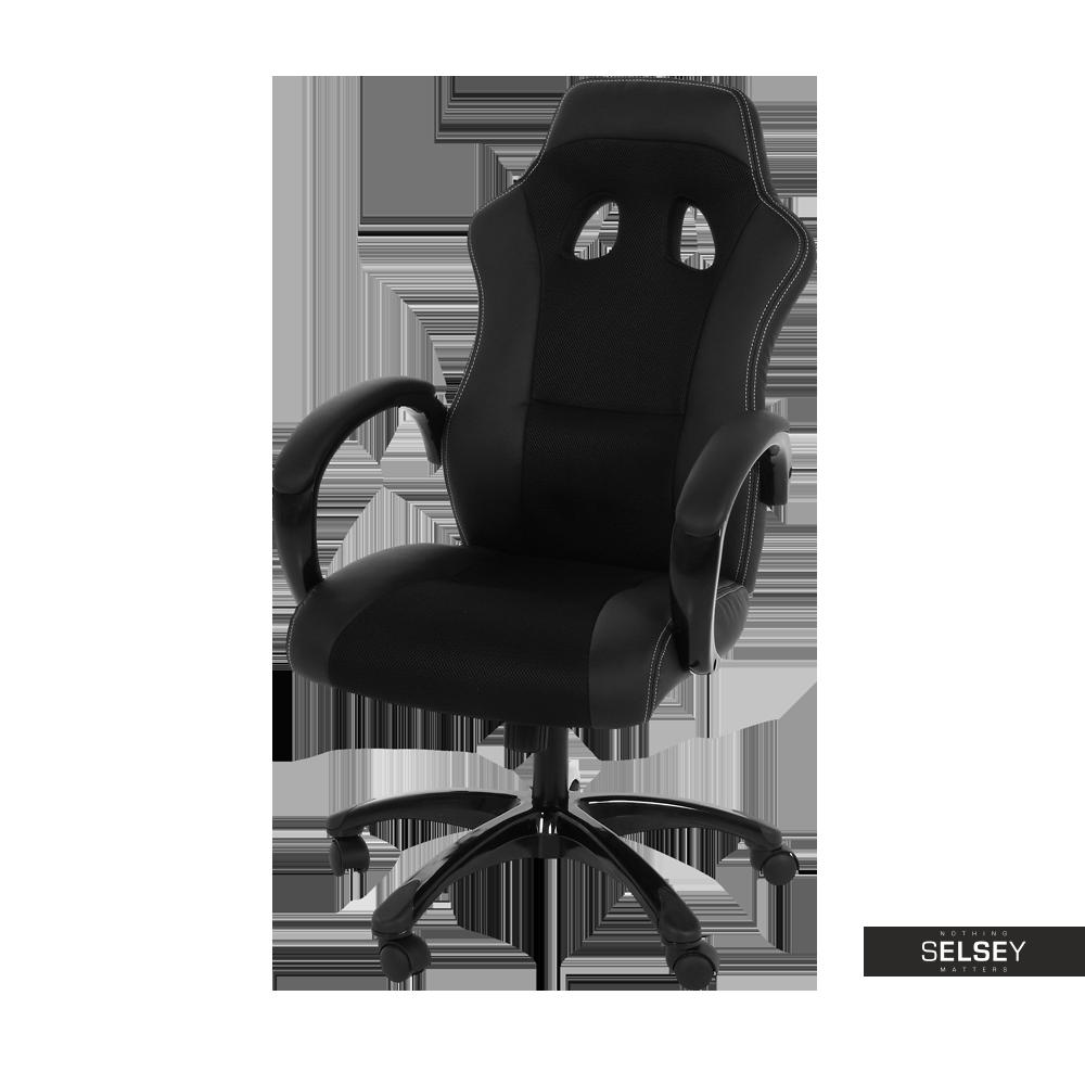 Fotel biurowy Mets czarny